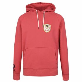 Jack Wills Graphic Hoodie - Red