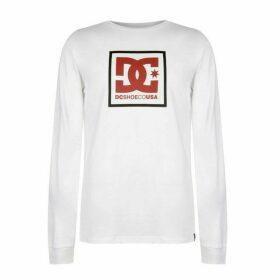 DC Ode Long Sleeve T Shirt Mens - White