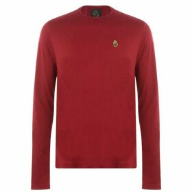 Luke Sport Traff Long Sleeve T Shirt - Rosewood