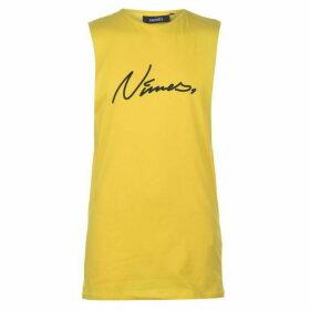 Nimes Script Vest - Yellow