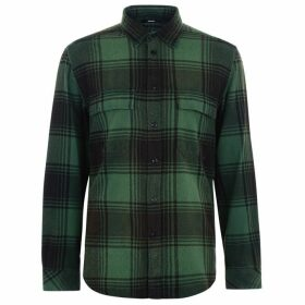 Diesel Large Check Shirt - Green 5CM