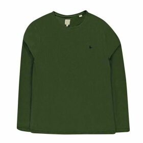 Jack Wills Dunsford Long Sleeve T-Shirt - Pine