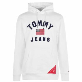 Tommy Jeans Hoodie - Classic White