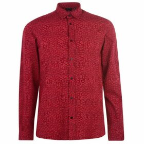 Antony Morato Long Sleeve Printed Shirt - RED 5043