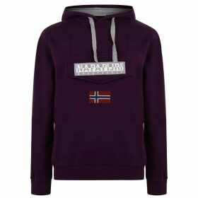 Napapijri Logo Hoodie - Purple Vine