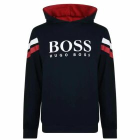 BOSS BODYWEAR Authentic Hooded Sweatshirt - Blue