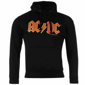 Official ACDC Hoody Mens - Red Logo