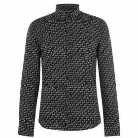 Hugo Hugo Ero3 Pattern Shirt - Black 001