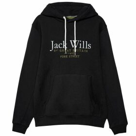 Jack Wills Batsford Wills Hoodie - Black