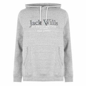 Jack Wills Jack Batsford Hoodie - Grey Marl