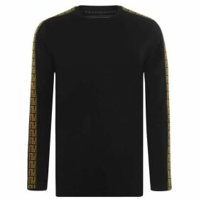 Presidents Club Greco Long Sleeve T Shirt - Black