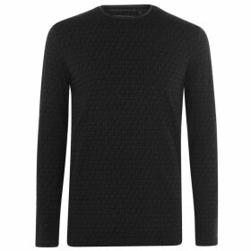 Presidents Club Coax Long Sleeve T Shirt - Black