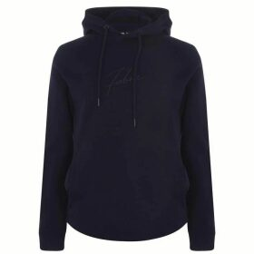 Fabric Muscle Hoodie Mens - Navy