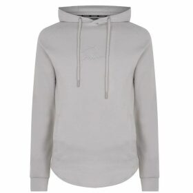 Fabric Muscle Hoodie Mens - Grey
