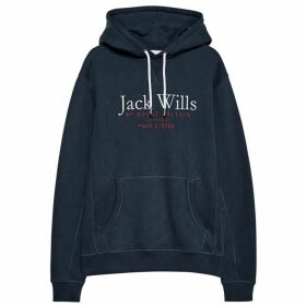 Jack Wills Batsford Wills Hoodie - Navy
