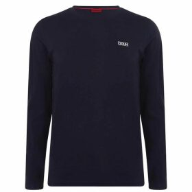 HUGO Long Sleeve T Shirt - Navy 407