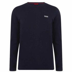 HUGO Long Sleeve T Shirt - Blue