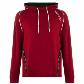 BOSS BODYWEAR Tencel Over The Head Hoodie - Red 609
