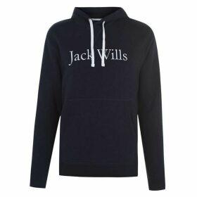 Jack Wills Batsford Heritage Popover Hoodie - Blue