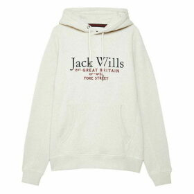 Jack Wills Batsford Wills Hoodie - White