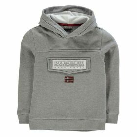 Napapijri Hooded Sweatshirt - Med Grey