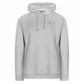 TOMMY JEANS Classic Hoodie - Lt Grey Hthr