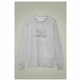 Jack Wills Askern Long Sleeve T-Shirt - Grey