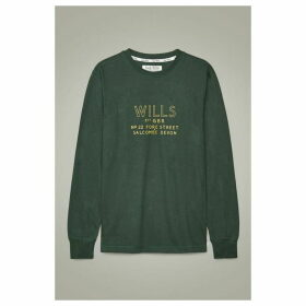 Jack Wills Askern Long Sleeve T-Shirt - Green