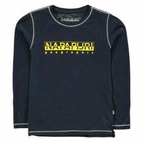 Napapijri Sion T Shirt - Blue Marine