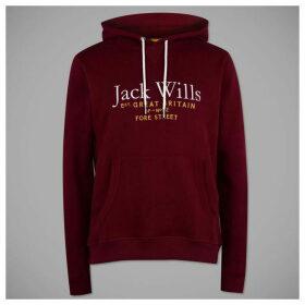 Jack Wills Jack Batsford Hoodie - Purple