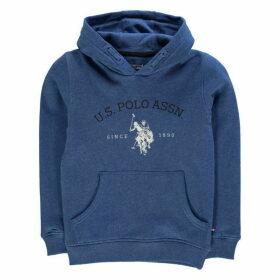 Us Polo Assn us Uspa Oth Hoody - Delft Marl