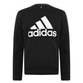 adidas BOS Crew Neck Sweatshirt Mens - Black
