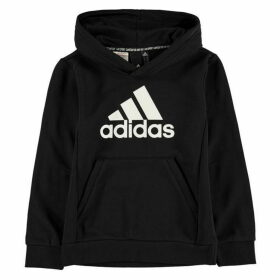 adidas BOS Hoodie Junior - Black/White