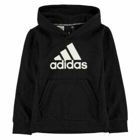 adidas BOS Hoodie Junior - Black/White