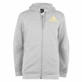 adidas SID BOS Hoodie Mens - Medium Grey