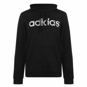 adidas Linear Hoodie Mens - Black/Grey