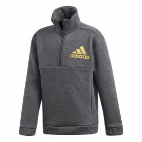 adidas ID Holiday Hoodie Junior - Grey