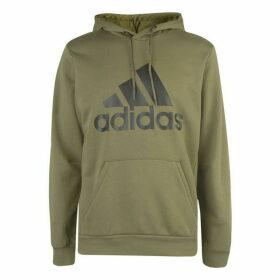 adidas Bold Logo Hoodie Mens - Green