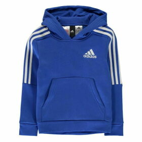 adidas 3S Logo OTH Hoodie Junior - Blue/White