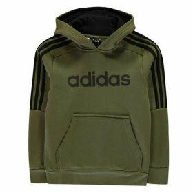 adidas 3S Logo OTH Hoodie Junior - Khaki/Black