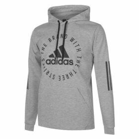 adidas Sport ID Hoodie Mens - Grey/Black