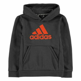 adidas BOS Hoodie Junior - Grey/Orange