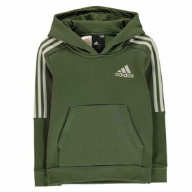 adidas 3S Logo OTH Hoodie Junior - Green/Chalk