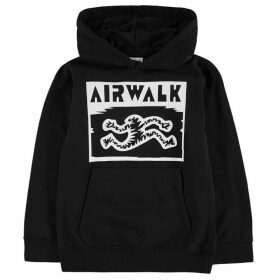 Airwalk Printed Hoodie Junior - Running