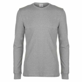 Airwalk Long Sleeve Logo T Shirt Mens - Grey