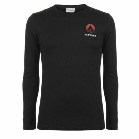 Airwalk Classic Long Sleeve T Shirt Mens - Black