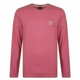 BOSS Tommi Uk Long Sleeve T Shirt - Pink