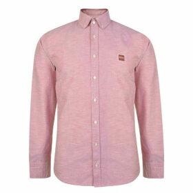 Boss Mabsoot Logo Shirt - Pink