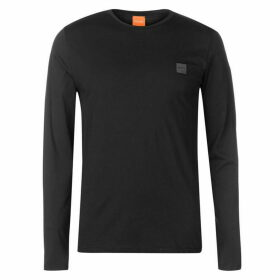 BOSS Tommi Uk Long Sleeve T Shirt - Black 001 SMU