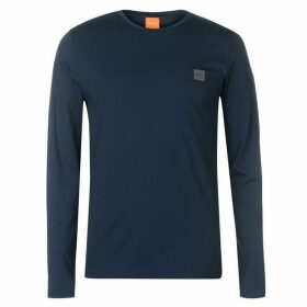 BOSS Tommi Uk Long Sleeve T Shirt - Navy 404 SMU